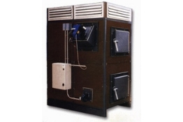 Generador de aire caliente policombustible